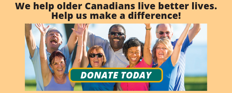 Donate to Active Aging Canada
