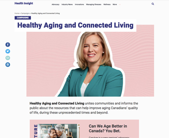 Healthy Aging and Connected Livings