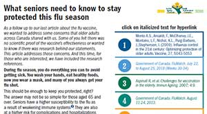 What seniors need to know to stay protected this flu season