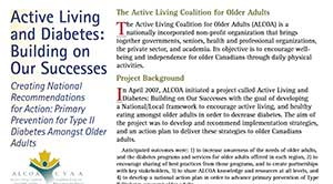Active Living and Diabetes