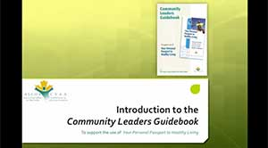 Introduction to the Community Leaders Guidebook
