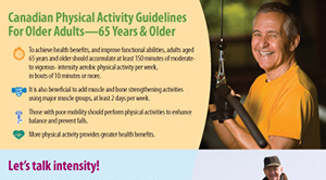 Healthy living workshop for older adults - Poster