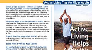 Active Living Tips for Older Adults