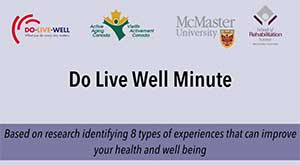 Do Live Well Minute - Rewind