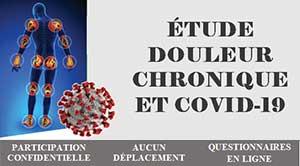 Étude douleur chronique et COVID-19