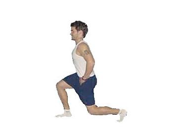 La fente – 5 minutes d'exercice