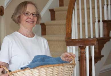 Les tâches ménagères, un côté très reluisant
